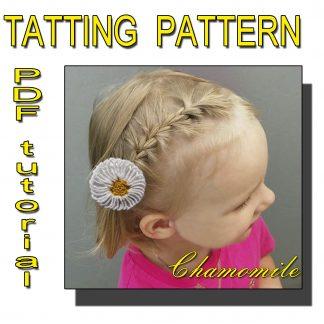 Chamomile tatting pattern