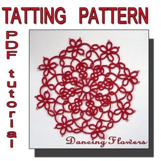 Dancing Flowers tatting pattern
