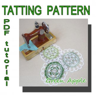 Doily Green Apple pattern