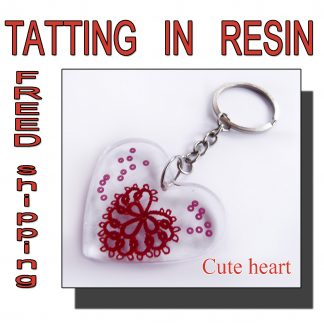Keychain cute heart