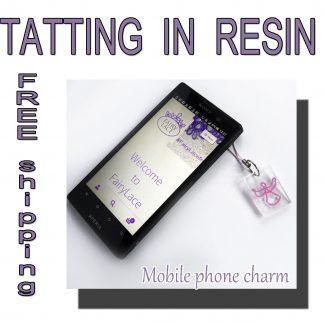 Angel mobile phone charm