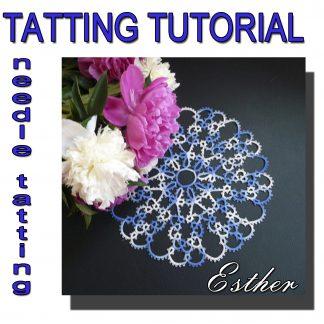 Doily Esther tatting pattern