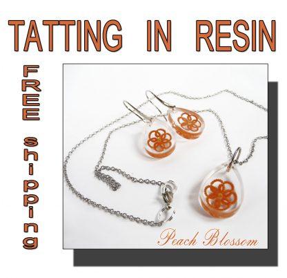 Peach Blossom jewelry set