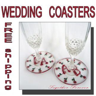 Wedding coasters Together Forever