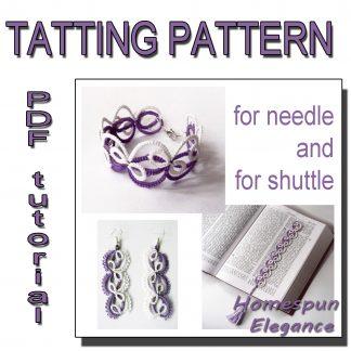 Homespun Elegance tatting pattern