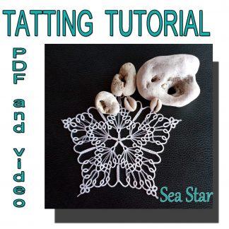Sea Star tatting pattern