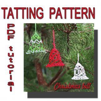 Christmas bell pattern