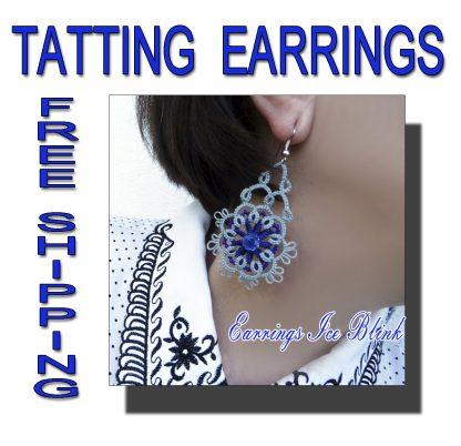 Earrings Ice blink
