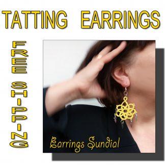 Earrings Sundial