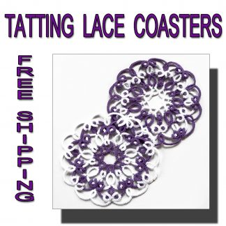 Lace coasters Perfect Marriage