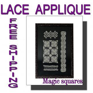 Applique Magic Squares