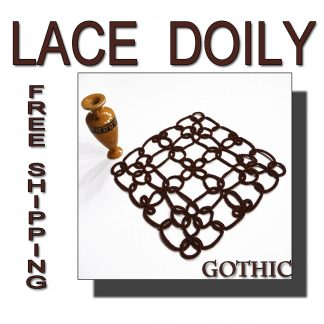 Lace doily Gothic