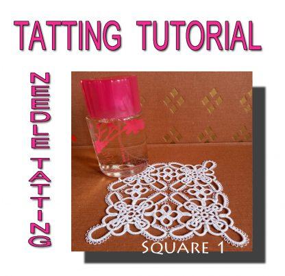 Tatting Pattern Square First