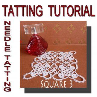 Tatting Pattern Square Third