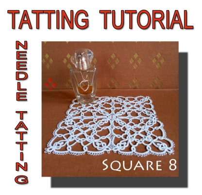 Tatting Pattern Square Eighth