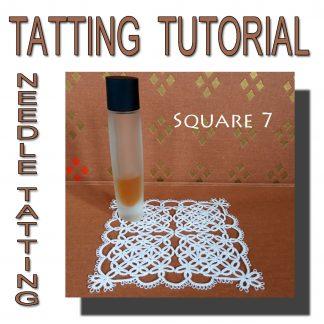 Tatting Pattern Square Seventh